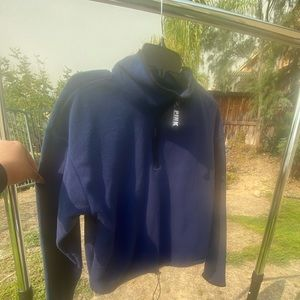 PINK Navy blue pullover, used